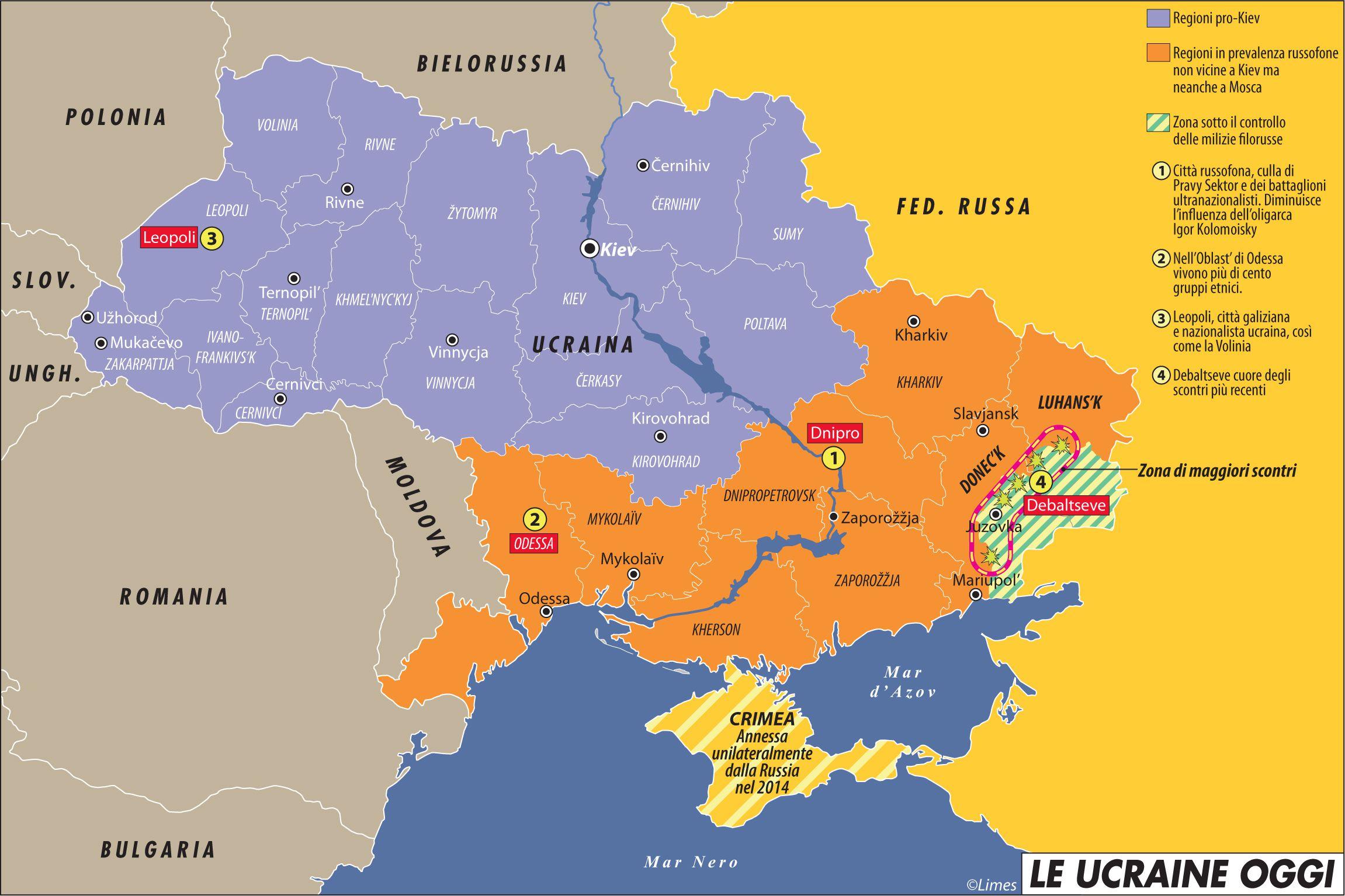 Russia Oggi Cartina.Ucraina Dove L Europa Sta Con I Nazisti Post